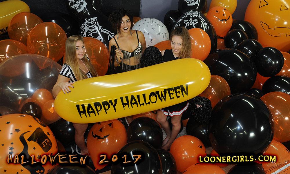 Looner girls Halloween Balloons 2017