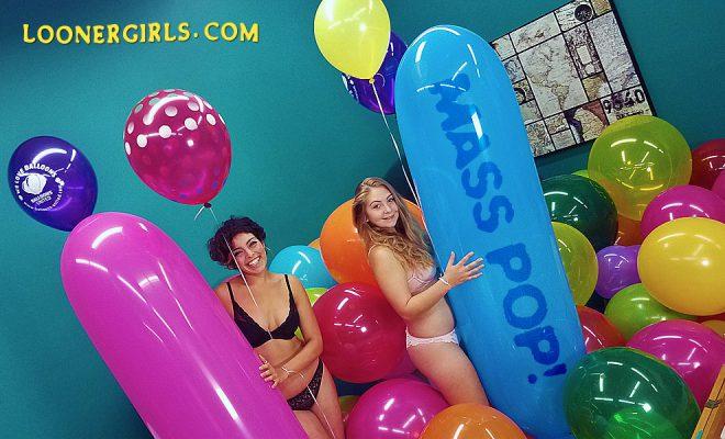 Looner Girls Mass Pop