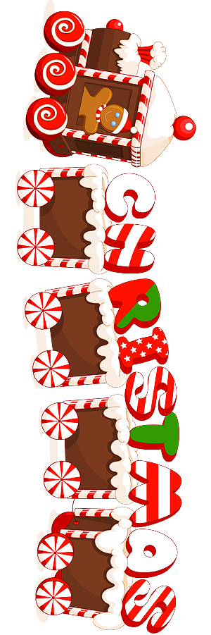 Merry_Christmas_Candy_Train_Text_Label -VERTICAL